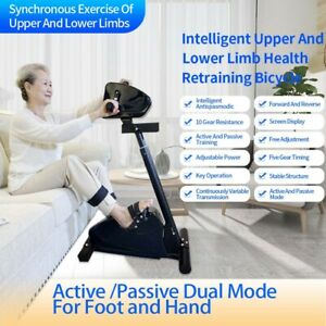 Electronic Physical Therapy Rehabilitation Bike,Training Hand Arm Foot Leg Knee
