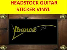 IBANE JEM GOLD MIRROR GUITAR STICKER VISIT OUR STORE WITH MANY MORE MODELS