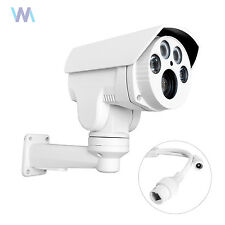 CCTV 960P IR IP 4X PTZ Bullet Day/Night Outdoor Camera PoE Onvif sd card Slot