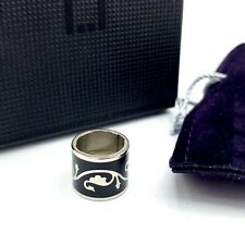 S.T. Dupont D Link Designed Changeable Ring Pen Accessory Black Lacquer Flower