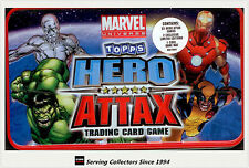 2011 Topps Marvel Universe Hero Attax Collectors Card Tin Box