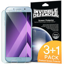 Samsung Galaxy A7   2017 Screen Protector - Invisible Defender [3+1 Free/MAX HD]