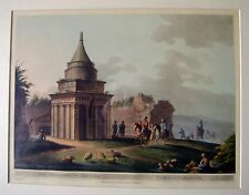 ENGRAVINGS PALESTINE/HOLY LAND THE  SEPULCHRE OF ABSOLOM  LUIGI MEYER 1803
