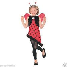 Girls Size Small 4-6 * Miss Ladybug * Costume Nwt