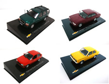 Lot de 4 voitures Chevrolet Kadett Opala 1/43 DIECAST MODEL CAR General Motors