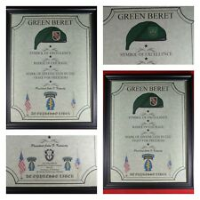 Mc-Nice: Army Special Forces Jfk Quote All Groups Framed Personalized