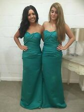 Satin Bridesmaid Wedding Dress Ballgown Wedding Evening Maxi Formal LUCY lot