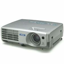 Epson PowerLite EMP-81 LCD Projector 2000 ANSI Lumen 5W Speakers 330H NO REMOTE