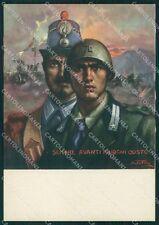 Militari 74º Reggimento Fanteria Lombardia Tafuri FG cartolina XF1722
