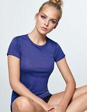 Monte Carlo cuello redondo Sport t-shirt fitness talla S-XXL en 15 colores neón ry0423