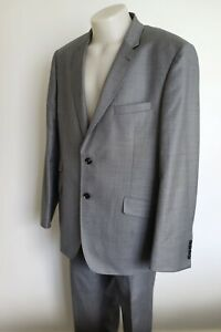ted baker 'endurance' grey wool suit…size 46r/xl…vgc...