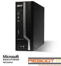 Acer Veriton X4610G Core i3 2120 3.3GHz 4GB 500GB DVD Win 7 Desktop PC