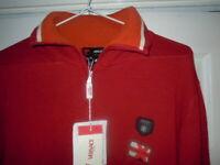 Versace Sport Designer Pullover Half Zip Jumper Size XL