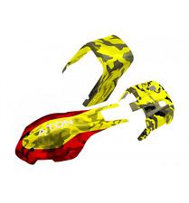 HobbyMarket69 Traxxas Aton Yellow & Red Camo Fiberglass Body / Canopy Set