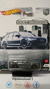Hot Wheels Fast Wagons '17 Audi RS 6 Avant  (cart)