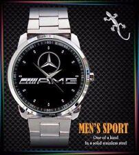 Rare Mercedes Benzz AMG Logo Sport Metal Watch BEST Luxury GIFT Free Shipping