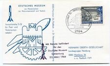 1964 Versuchsreihe Tr12 Raketen Deutsches Museum Sahlenburg Berlin Hamburg SPACE