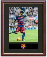 Dani Alves Mounted Framed & Glazed Memorabilia Gift Football Soccer
