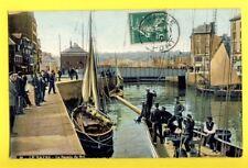 cpa Normandie Ecrite en 1912 - LE HAVRE (Seine Maritime) Le BASSIN du ROI