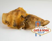 Cats and Dogs Rock Beef Ears 12 Count