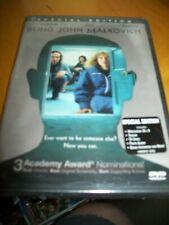 Comedy - Being John Malkovich Dvd Brand New - Sealed - 1999 New