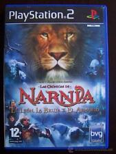 PS2 LAS CRONICAS DE NARNIA EL LEON, LA BRUJA Y EL ARMARIO PAL ESPAÑA PLAYSTATION