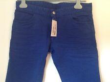 BNWT 100% Auth Dsquared2 Ladies slim Fit Cobalt Blue Jeans. 44 RRP £320.00