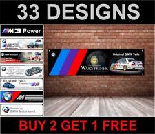 BMW E30 Warsteiner Btcc Drapeau pour Atelier, Garage, Man Grotte, M Sport, M3