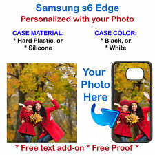 Customized Phone Cover Case with Your Picture Photo For Samsung S6 Edge