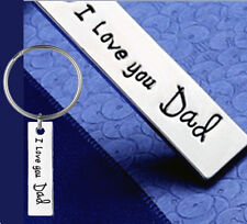 DAD daddy for Fathers day I love You engraved unusual gift Father papa sale