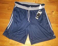 NWT Men's Navy ADIDAS Performance Climalite Basketball Lounge Shorts XL