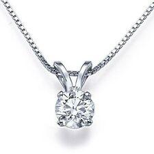 Collane e pendagli con diamanti naturale tondi F