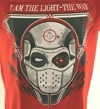 Dead Shot DC Suicide Squad Men's T-Shirt Size Sm Red NEW With Tags