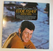 "Eddie Fisher ""Games That Lovers Play"" LP"