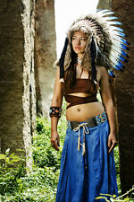 Native American Headdress / Indian Headdress / War Bonnet / Indian Costume