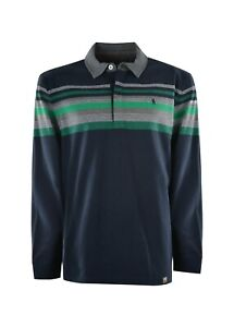 Thomas Cook Mens Kennedy Stripe Rugby - T1W1503021- Sizes S to 4XL