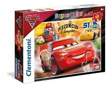 Clementoni 26424  Maxi Puzzle Disney Cars 3 60 Pezzi Mcqueen Piston Cup Pixar