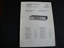 Original Service Manual Blaupunkt  Delta Delta 6003GD
