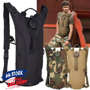 3L Camelbak Camping Backpack Bladder Tactical Hydration Hiking Bag Pack  Water