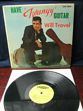 DUANE EDDY  HAVE TWANGY GUITAR WILL  TRAVEL & THE REBELS  JLP-3000 MONO 1958