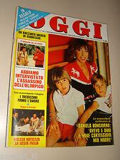 OGGI=1980/48=VINCENZO PAPARELLI=STEVE McQUEEN=CANELLI=PORTO SAN GIORGIO=FANTOZZI