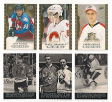 14/15 UD MASTERPIECES JONATHAN TOEWS  WIRE PHOTOS SP CARD #185