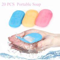 Disposable Soap Flakes Rich Foam Soap Paper Sterilization Shower Cleaning Hand