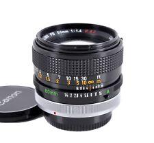 Canon FD 50 mm 1:1,4 S.S.C. *TOP-Zustand* adaptierbar an digital