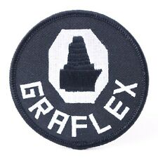 """Graflex Logo 3"""" Embroidered Sew-On Patch for Jacket or Camera Bag #Q20"""