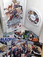BlazBlue Continuum Shift II GIOCO USATO OTTIMO SONY PSP EDIZIONE JAP VBC 53021