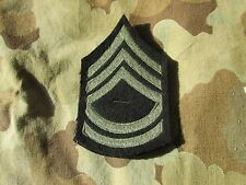 US ARMY MILITARY RANK CHEVRON INSIGNIA PAIR Technical Sergeant  Wool T/SGT