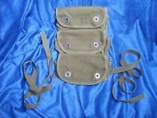 Original Vintage US Grenade Carrier Pouch 3 Pocket MINT