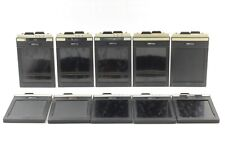 [EXC+5] FIDELITY Elite 4x5 Cut Film Holders 10 Pieces Set Camera From Japan 733