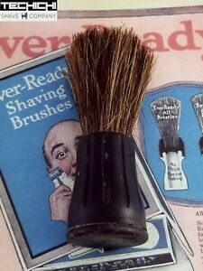 Ever-Ready Vintage Shaving Horse Hair Brush